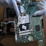 HP G71 Motherboard Removed