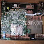 HP G71 Audio Board and Power Cable Removal