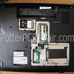 Back Covers Removed HP G71
